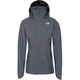 The North Face Inlux Dryvent Veste Femme, grisaille grey white heather